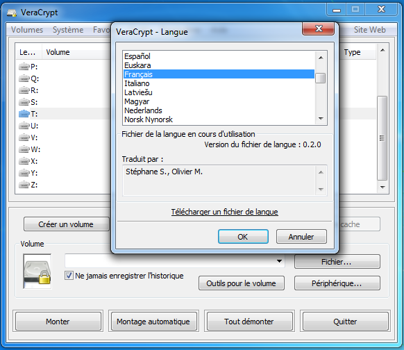 VERACRYPT 7 TÉLÉCHARGER GRATUIT WINDOWS